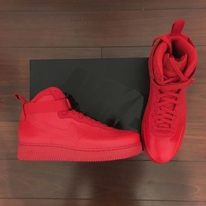 Air Force 1 Foamposite 'red' Nike